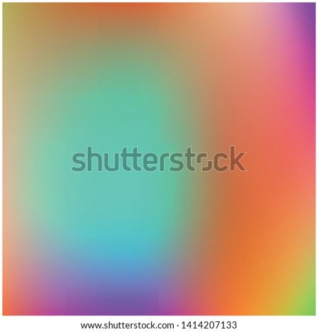 Cool backdrop from simple patterns. Amazing splash and spreading spot. Vector illustration space. Orange beautiful backdrops for use on modern electronic devices.