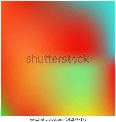 Cool backdrop from simple patterns. Creative splash and spreading spot. Vector illustration presentation. Red beautiful backdrops for use on modern electronic devices.