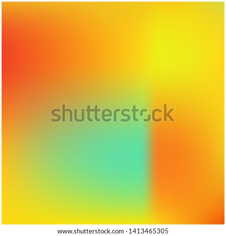 Cool backdrop from simple patterns. Graceful splash and spreading spot. Vector illustration concept. Orange beautiful backdrops for use on modern electronic devices.