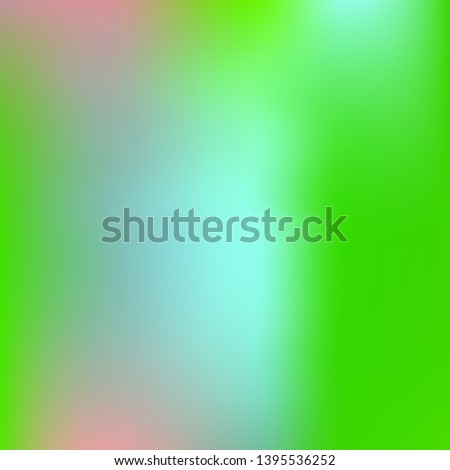 Cool backdrop from simple patterns. Great splash and spreading spot. Vector illustration cover. Green beautiful backdrops for use on modern electronic devices.