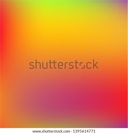 Cool backdrop from simple patterns. Great splash and spreading spot. Vector illustration show. Yellow beautiful backdrops for use on modern electronic devices.