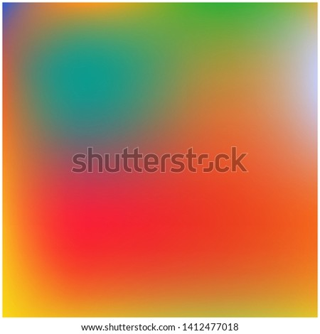 Cool backdrop from simple patterns. Great splash and spreading spot. Vector illustration space. Red and green beautiful backdrops for use on modern electronic devices.