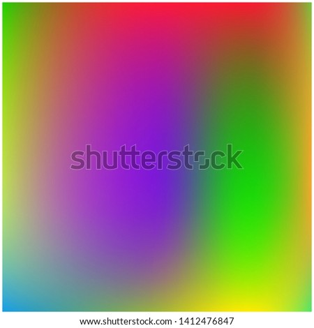 Cool backdrop from simple patterns. Interesting splash and spreading spot. Vector illustration concept. Violet and green  beautiful backdrops for use on modern electronic devices.