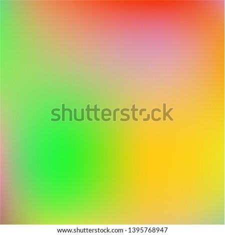 Cool backdrop from simple patterns. Magic splash and spreading spot. Vector illustration cover. Orange beautiful backdrops for use on modern electronic devices.