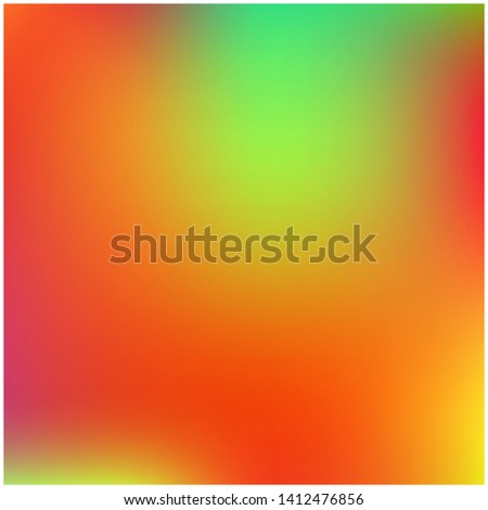 Cool backdrop from simple patterns. Magic splash and spreading spot. Vector illustration layout. Red beautiful backdrops for use on modern electronic devices.