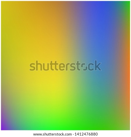 Cool backdrop from simple patterns. Nice splash and spreading spot. Vector illustration space. Yellow and blue beautiful backdrops for use on modern electronic devices.