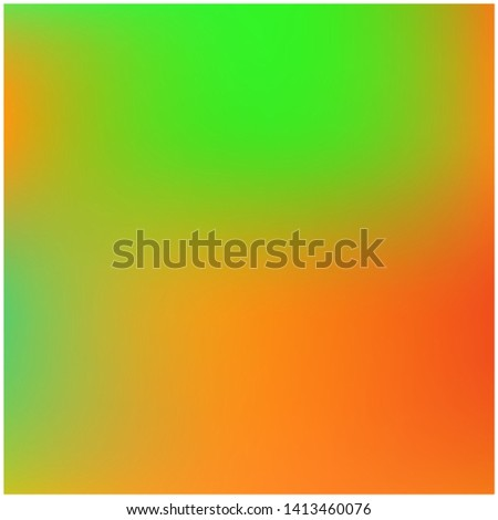 Cool backdrop from simple patterns. Startling splash and spreading spot. Vector illustration cover. Orange beautiful backdrops for use on modern electronic devices.