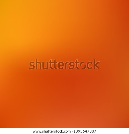 Cool backdrop from simple patterns. Startling splash and spreading spot. Vector illustration flat. Orange beautiful backdrops for use on modern electronic devices.