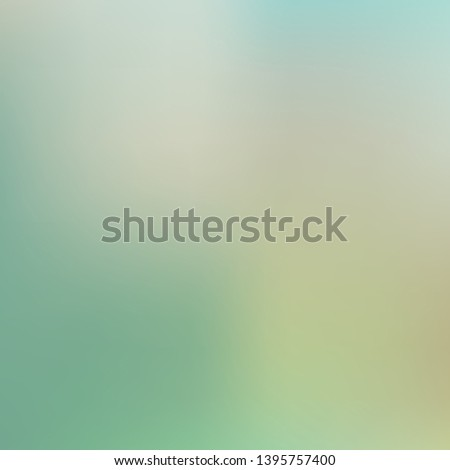 Cool backdrop from simple patterns. Strange splash and spreading spot. Vector illustration flat. Green beautiful backdrops for use on modern electronic devices.