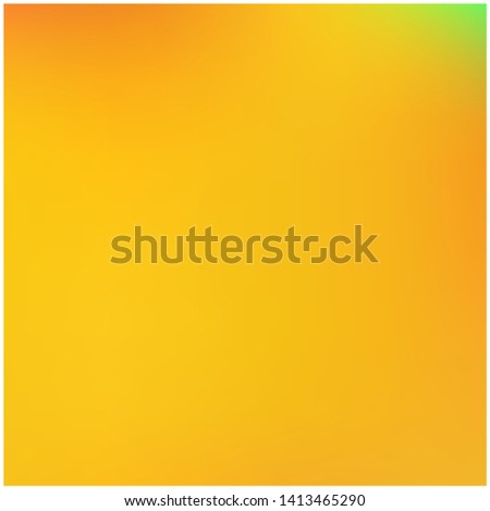 Cool backdrop from simple patterns. Trendy splash and spreading spot. Vector illustration flyer. Orange beautiful backdrops for use on modern electronic devices.