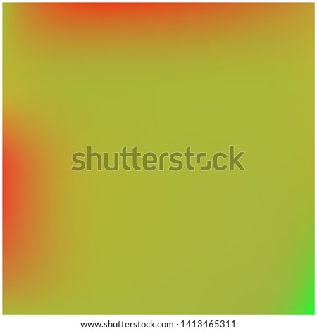 Cool backdrop from simple patterns. Vector illustration concept. Juicy splash and spreading spot. Green beautiful backdrops for use on modern electronic devices.
