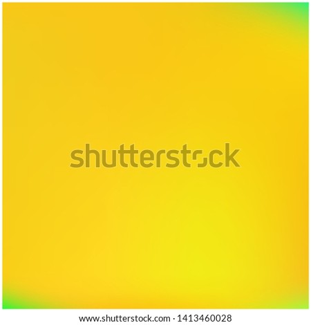 Cool backdrop from simple patterns. Vector illustration cover. Strange splash and spreading spot. Yellow beautiful backdrops for use on modern electronic devices.