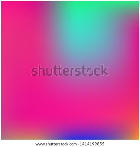 Cool backdrop from simple patterns. Vector illustration flat. Juicy splash and spreading spot. Pink beautiful backdrops for use on modern electronic devices.
