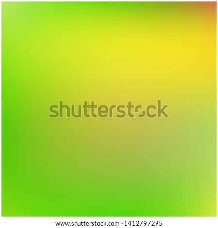 Cool backdrop from simple patterns. Vector illustration flyer. Unreal splash and spreading spot. Green beautiful backdrops for use on modern electronic devices.