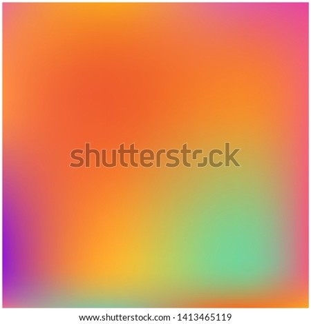 Cool backdrop from simple patterns. Vector illustration layout. Creative splash and spreading spot. Orange beautiful backdrops for use on modern electronic devices.