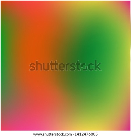 Cool backdrop from simple patterns. Vector illustration layout. Random splash and spreading spot. Green and red beautiful backdrops for use on modern electronic devices.