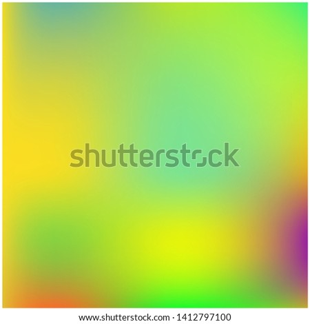 Cool backdrop from simple patterns. Vector illustration shape. Strange splash and spreading spot. Green beautiful backdrops for use on modern electronic devices.