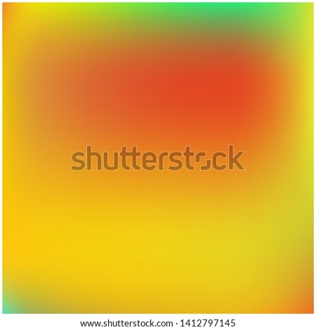 Cool backdrop from simple patterns. Vector illustration show. Interesting splash and spreading spot. Yellow beautiful backdrops for use on modern electronic devices.