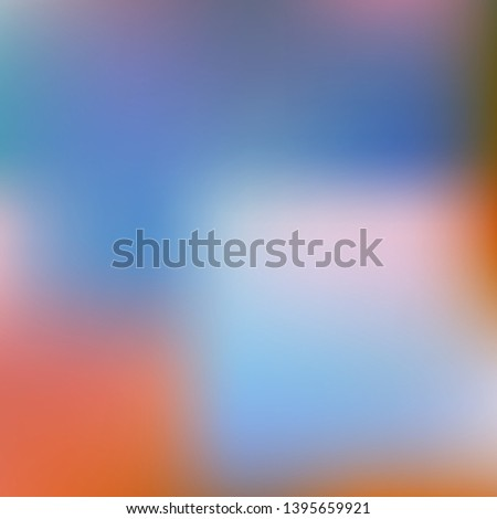 Cool backdrop from simple patterns. Vector illustration show. Juicy splash and spreading spot. Blue beautiful backdrops for use on modern electronic devices.