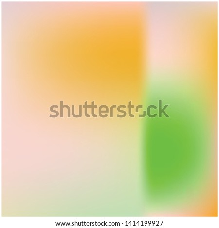 Cool backdrop from simple patterns. Vector illustration space. Creative splash and spreading spot. Orange beautiful backdrops for use on modern electronic devices.