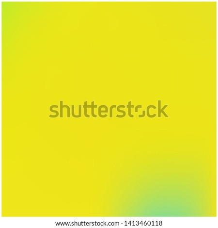 Cool backdrop from simple patterns. Vector illustration space. Pretty splash and spreading spot. Yellow beautiful backdrops for use on modern electronic devices.