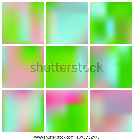 Cool backdrop from simple patterns. Vector illustration space. Startling splash and spreading spot. Green beautiful backdrops for use on modern electronic devices.