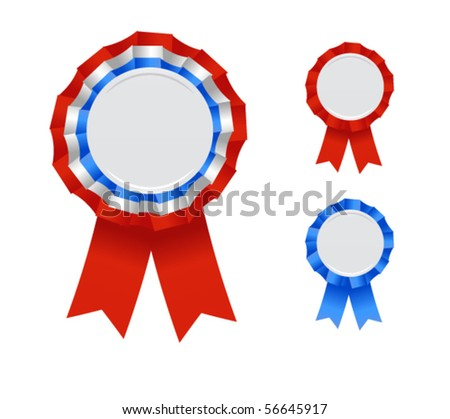 cool badges - stock vector