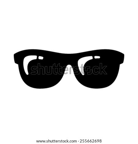 cool black cartoon sunglasses