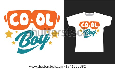 cool boy glass t shirt and