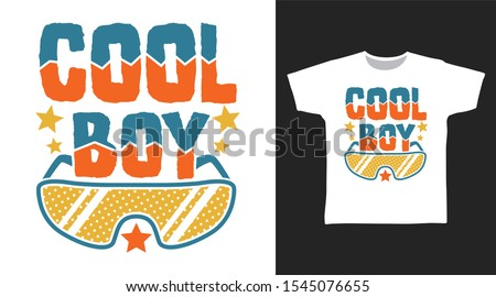 cool boy stylish t shirt and