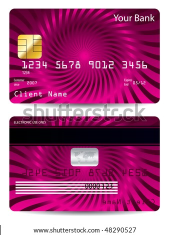 credit cards designs. Cool credit card design