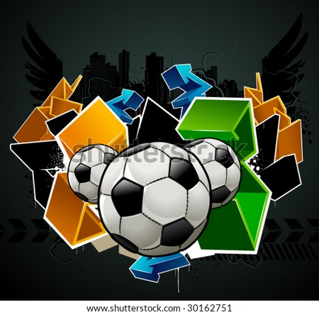 cool graffiti wallpaper. Soccer+graffiti+wallpaper