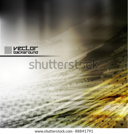 cool grunge metal vector background