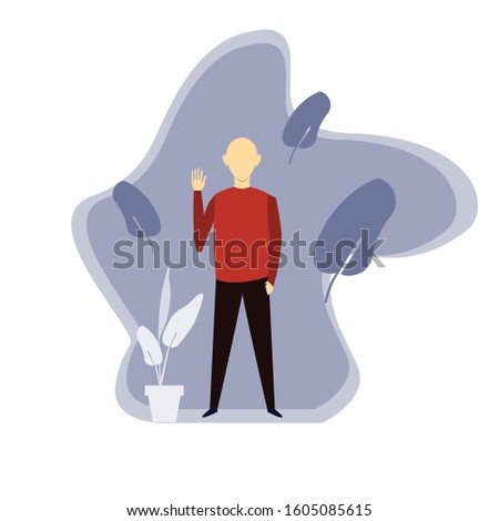 cool human illustrations, best human illustrations, vector human illustrations