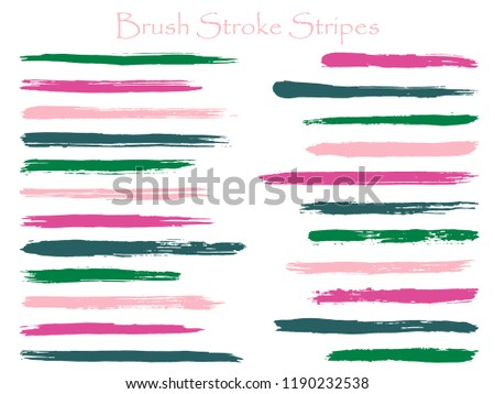 6de642729d57 Collection of pink brush strokes - Download Free Vector Art
