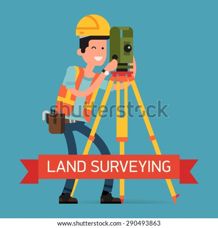 land survey machine