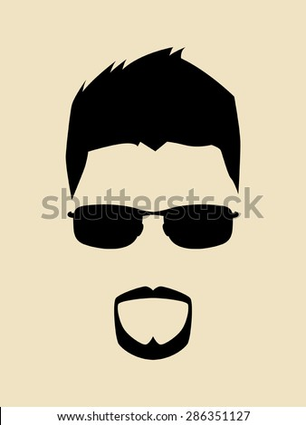 cool man with beards and