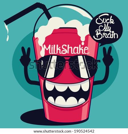 cool milkshake
