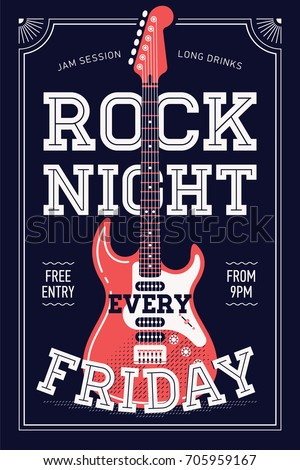 cool 'rock night every friday'