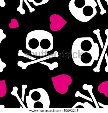 cool skull texture