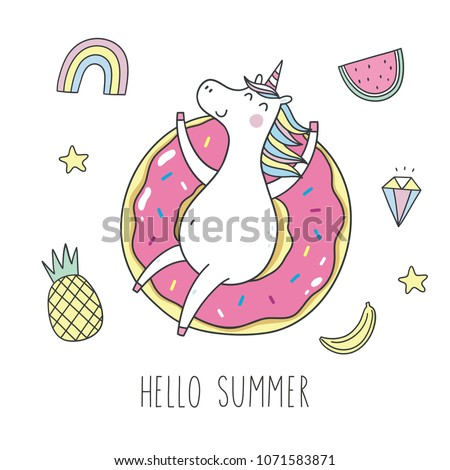 cool summer stickers or patches