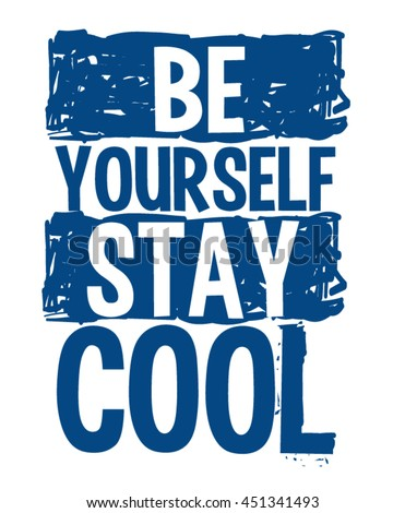 cool typography  slogan