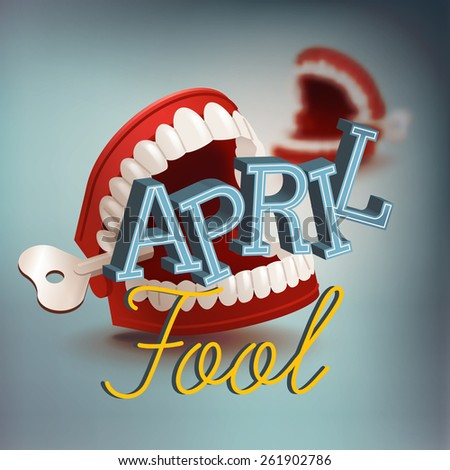 cool vector april fool's day