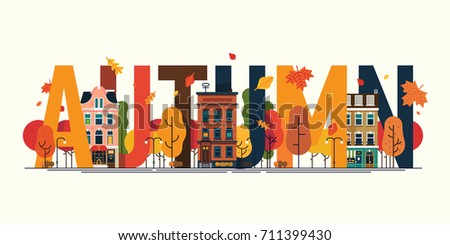 cool vector detailed autumn