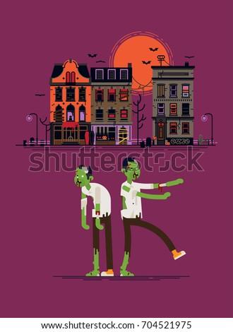 cool vector halloween design