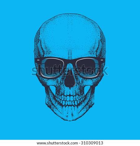 cool vector skull illustration