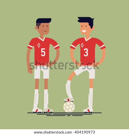 cool vector soccer football