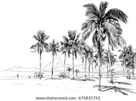 copacabana beach rio de