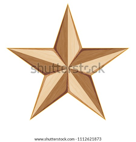 Copper Star illustration #1112621873