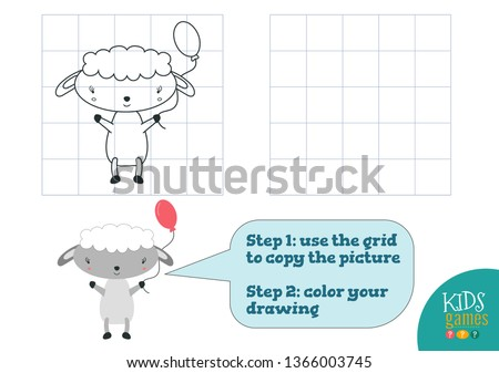 copy and color picture vector